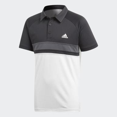 Genç Tenis Beyaz Colorblock Club Polo Tişört