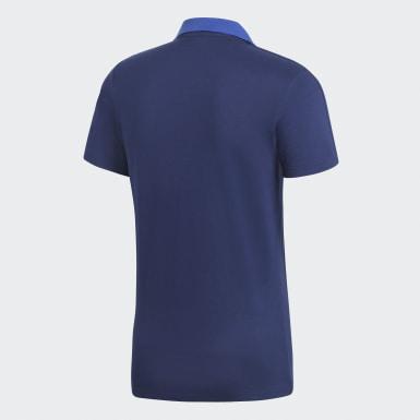 CON18 CO POLO Azul Hombre Fútbol
