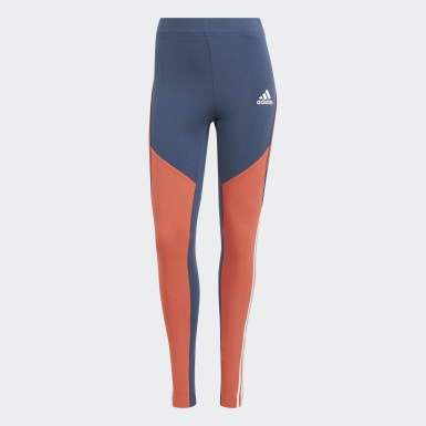 Women Athletics Blue adidas Sportswear Colorblock Leggings