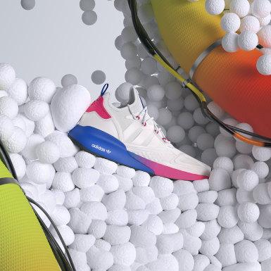 Tenis ZX 2K Boost Blanco Mujer Originals