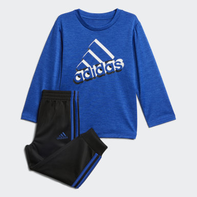 Infant & Toddler Training Blue Active Sport Top and Joggers Set