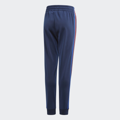 Youth Originals Blue Adicolor 3D Trefoil Track Pants