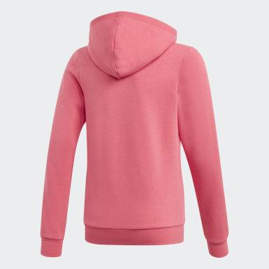 Veste à capuche 3-Stripes Rose Filles Athletics