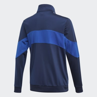 Youth 8-16 Years Originals Blue Bandrix Track Top