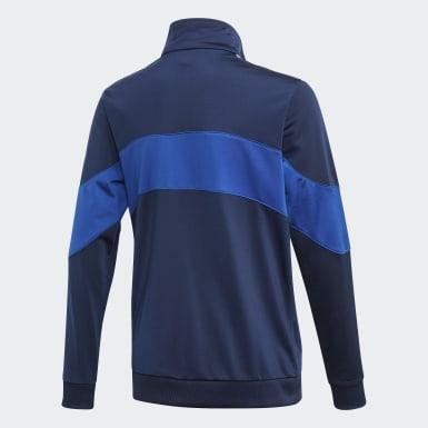 Børn Originals Blå Bandrix træningsjakke