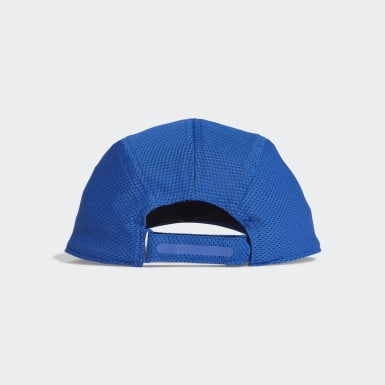 Running Blue AEROREADY Runner Mesh Cap