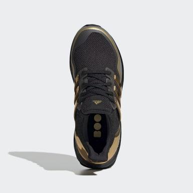 Chaussure Ultraboost Metallic noir Adolescents Course