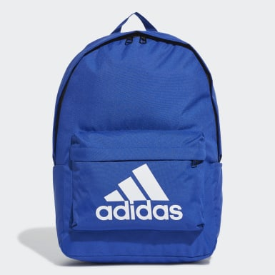 Training Blue Classic Big Logo Backpack