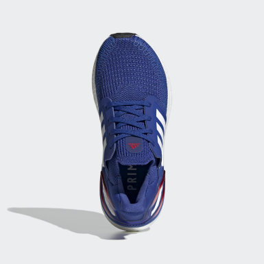 Kids Running Blue Ultraboost 20 Shoes