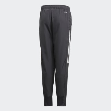 Youth 8-16 Years Football Grey Germany Presentation Tracksuit Bottoms