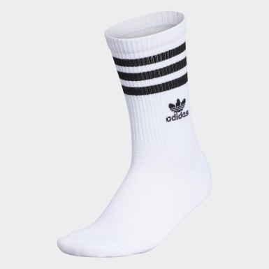 Women's Originals White Recycled Single Crew Socks