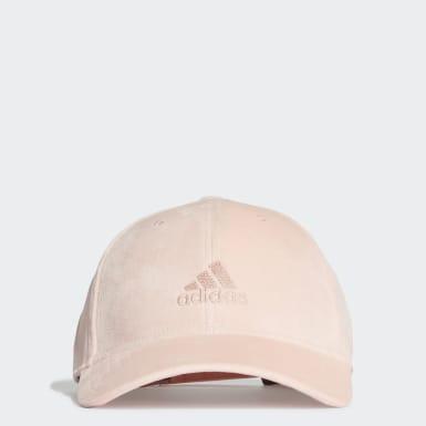Velvet Baseball Caps Rosa
