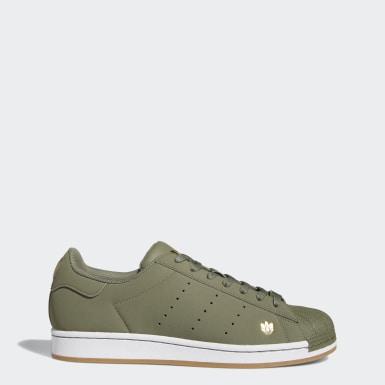 Chaussure Superstar Pure vert Hommes Originals