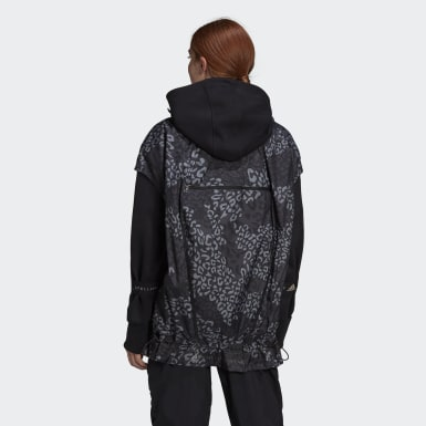 Women adidas by Stella McCartney Grey TruePace Gilet WIND.RDY