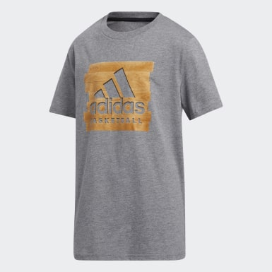 Children Training Grey Heathered Turf Tee