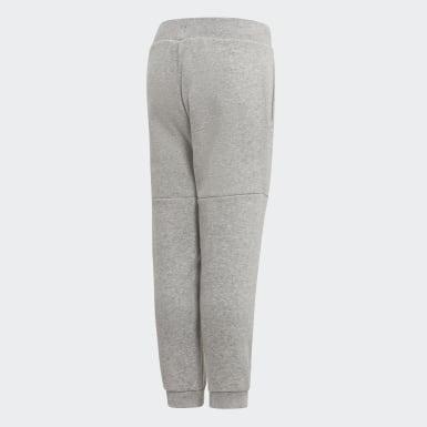Children Training Grey Linear Sweat Pants