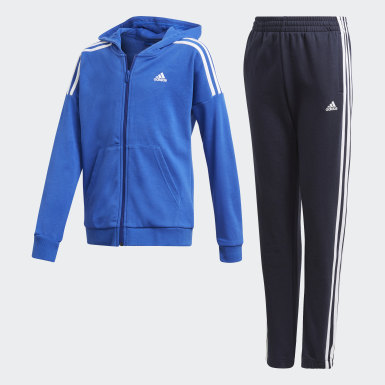 Boys Training Blue Track Suit