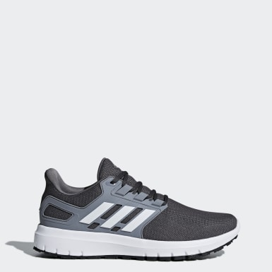 Men Running Grey Energy Cloud 2 Shoes