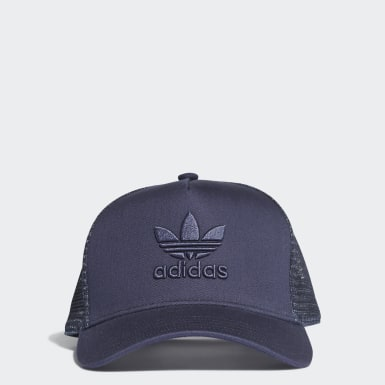 Originals Blue Trefoil Trucker Cap