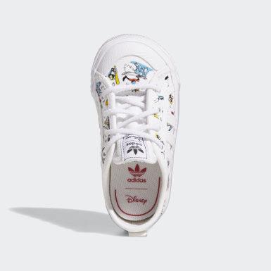 Kinderen Originals Wit Nizza x Disney Sport Goofy Schoenen