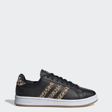 Zapatillas Grand Court Negro Mujer Sport Inspired