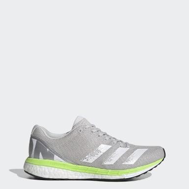 Frauen Running Adizero Boston 8 Schuh Grau