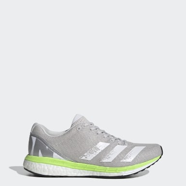 Women Running Grey adizero Boston 8 Shoes