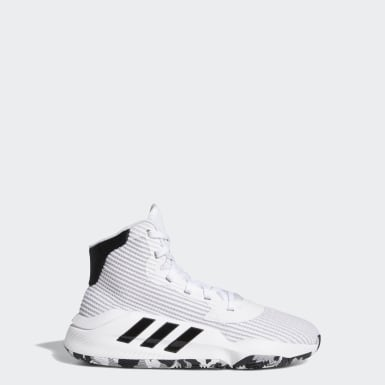 Kids Basketball White Pro Bounce 2019 Shoes