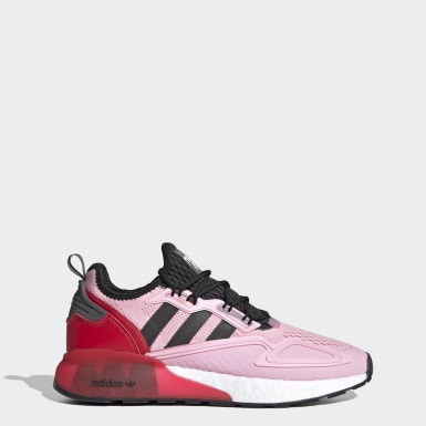 Sapatos ZX 2K Boost Ninja Rosa Originals