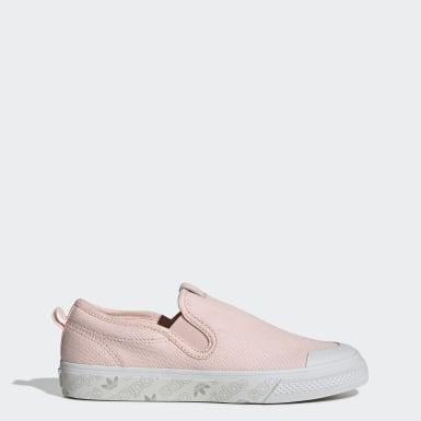Zapatillas Nizza Sin Cordones Rosado Mujer Originals