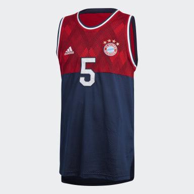 Canotta Seasonal Special FC Bayern Blu Uomo Calcio
