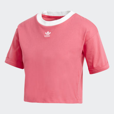 Women Originals Pink Crop Top