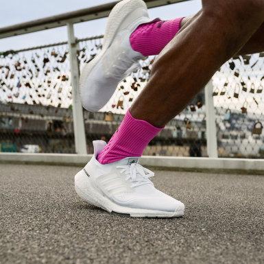 Sapatos Ultraboost 21 Branco Homem Running