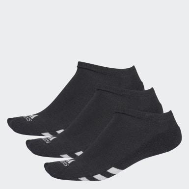 Muži Golf černá No-Show Socks – 3páry