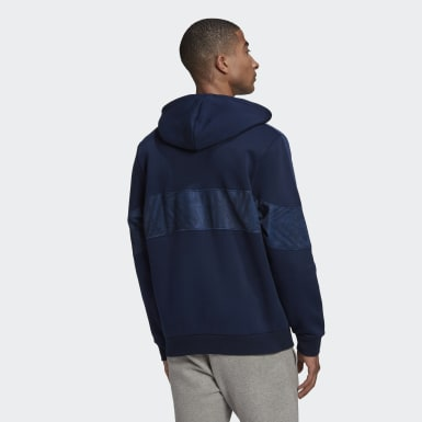 Men Originals Blue BX-20 Hoodie