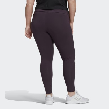 Women's Essentials Essentials Branded High-Rise Leggings (Plus Size)