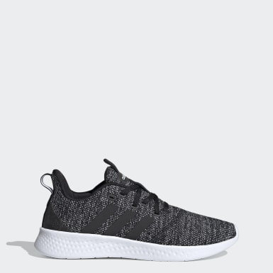Women Running Black Puremotion Shoes