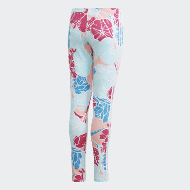 Girls Originals Pink Leggings