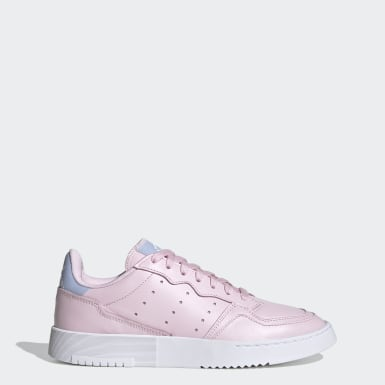 Women Originals Pink Supercourt Shoes
