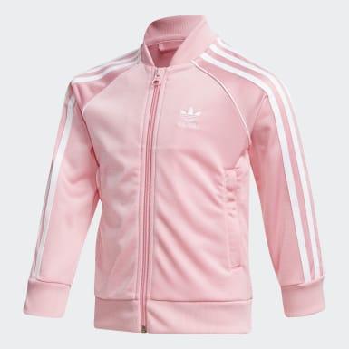 Dívky Originals růžová Sportovní souprava SST