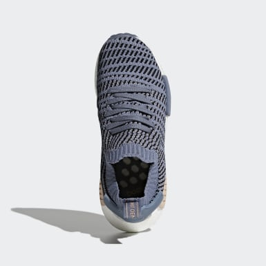 Women's Originals Blue NMD_R1 STLT Primeknit Shoes