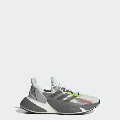 Youth Running White X9000L4 Running Shoes