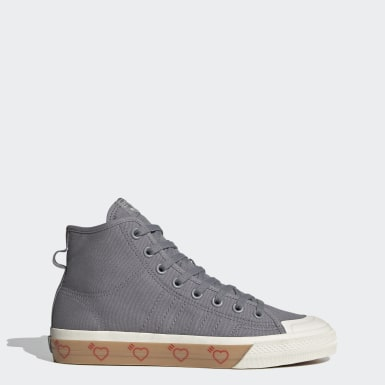 Originals Grey Human Made Nizza Hi Shoes