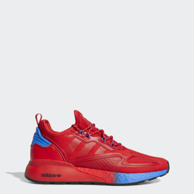 Originals Red ZX 2K Boost Shoes