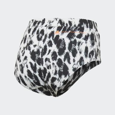 Ženy adidas by Stella McCartney bílá Spodní díl bikin TruePurpose