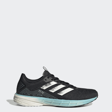 Women Running Black SL20 Primeblue Shoes