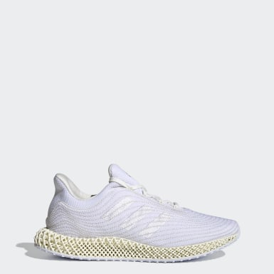Men Running White adidas 4D Parley Shoes