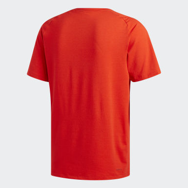 Men Yoga Red FreeLift Sport Prime Lite T-Shirt