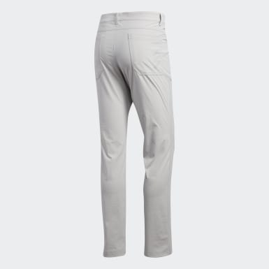 Men's Golf Grey Adicross Five-Pocket Pants
