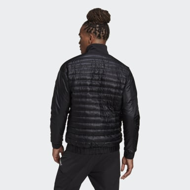 Men TERREX Black Terrex Hike Bomber Down Jacket